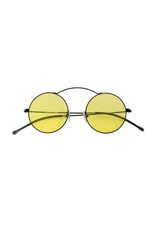 Occhiali da sole Spektre modello metro flat nero e giallo Spektre | 53 | METRO FLATNERO/GIALLO