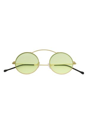 Green and gold Spekre Met-ro flat sunglasses Spektre | 53 | METRO FLATORO/VERDE