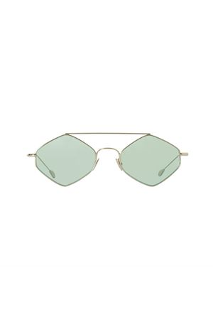 Spektre sunglasses Rigaut model with silver frame and green lenses Spektre | 53 | RIGAUTARGENTO/VERDE