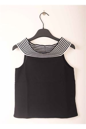 Black top for girl with bare shoulders  Amina Rubinacci | 40 | AR81NERORIGA