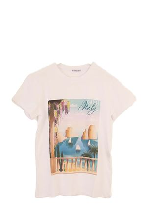 Cotton T-shirt with Faraglioni Aram Capri | 8 | CAPRI TSHIRTBIANCO