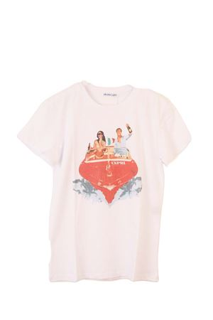 Riva Speedboat cotton t-shirt Aram Capri | 8 | RIVA CAPRI TSHIRTBIANCO