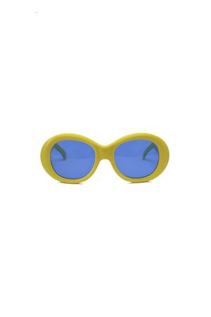 Handmade yellow sunglasses Capri People | 53 | 9030/2019GIALLO