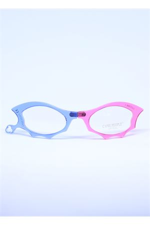 Blue and pink reading glasses with stilysh  Capri People | 53 | LUCIFERAZZURRO