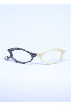White and broiwn reading glasses with orescription lenses  Capri People | 53 | LUCIFERBIANCO