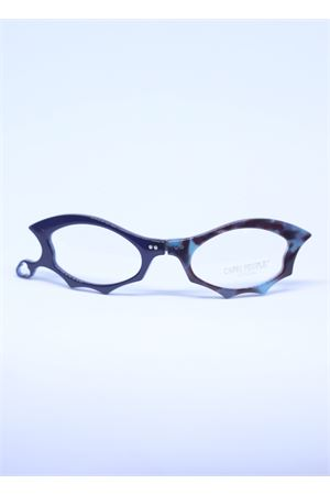 Blue reading glasses with stylish frame  Capri People | 53 | LUCIFERLUCIDBLU