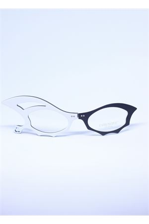 Black and white folding reading glasses  Capri People | 53 | LUCIFERNERO