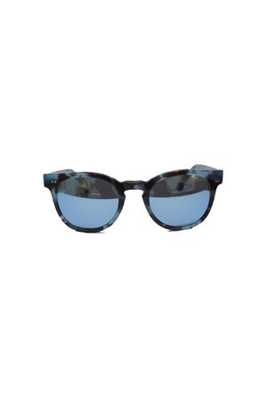 Handmade blue spotted sunglasses Capri People | 53 | MARE/2019BLU MACULATO
