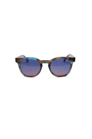 Handmade sunglasses with polarized lenses Capri People | 53 | MARE/2019PORO/BLU