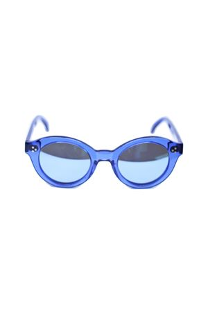 Blue sunglasses with mirrored lenses Capri People | 53 | PIERBLU