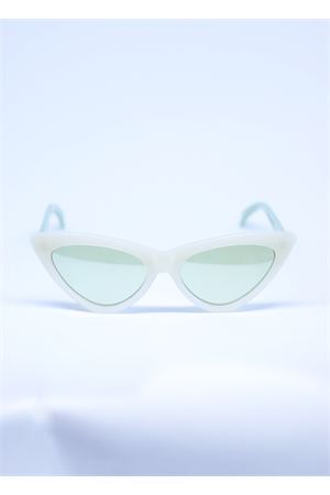White sunglasses cat eye style  Capri People | 53 | SAMANTABIANCO