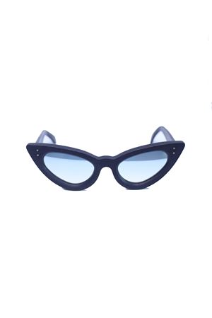 Occhiali da sole modello cat eye nero Capri People | 53 | SAMANTANERO