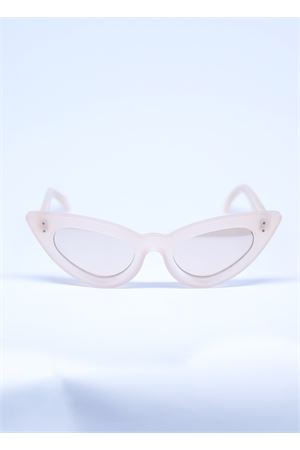 Occhiali da sole cat eye rosa con lenti specchiate Capri People | 53 | SAMANTAROSA
