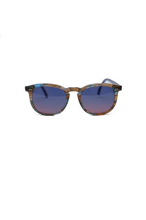 Handmade Gold/blue Capri sunglasses Capri People | 53 | TIBERIO/2019ORO/BLU