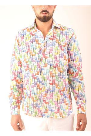 Camicia in lino fantasia sdraio Colori Di Capri | 6 | REGULARSEDIE