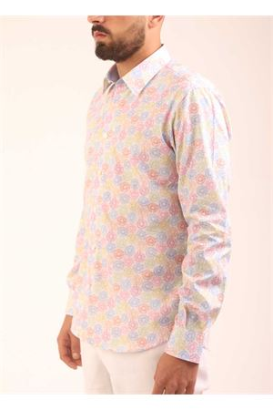 Target fancy cotton shirt for men  Colori Di Capri | 6 | SLIMFITTARGET