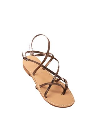 Cuccurullo Capri sandals with double closure  Cuccurullo | 5032256 | CUC3XBRONZO