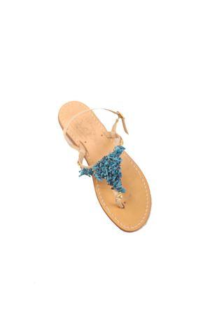 Blue corals Capri sandals  Cuccurullo | 5032256 | CUCCORALVAZZURRO