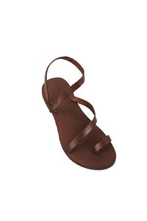 Brown Cuccurullo Capri sandals  Cuccurullo | 5032256 | CUCGIROCAVIGLIAMARRONE