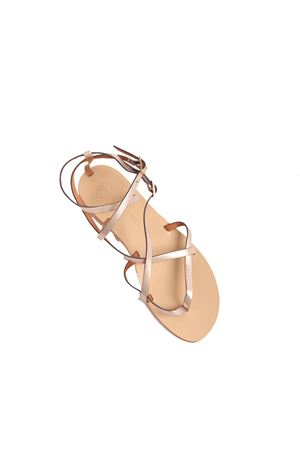 Pink champagne color high Capri sandals  Da Costanzo | 5032256 | 2245ROSA