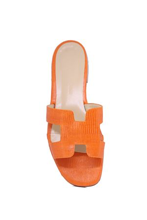 H sandals from da Costanzo Capri  Da Costanzo | 5032256 | 2508ARANCIONE