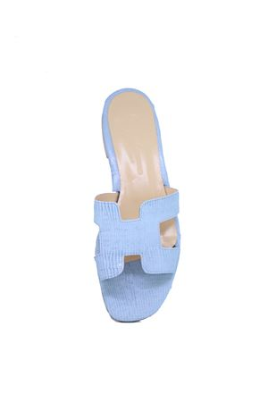 H light blue Capri sandals  Da Costanzo | 5032256 | 2508CIELO