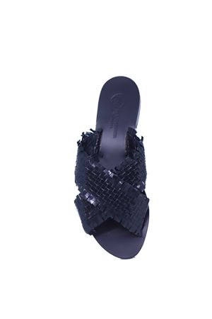 Black sandals non flip flop  Da Costanzo | 5032256 | 2562NERO