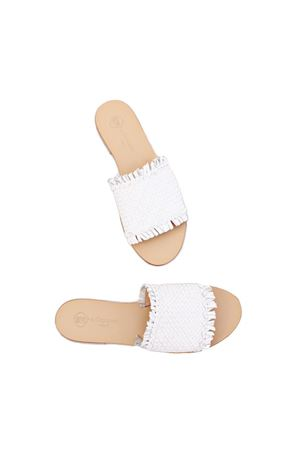 Confortable leather Capri handmade sandals Da Costanzo | 5032256 | 2566BIANCO