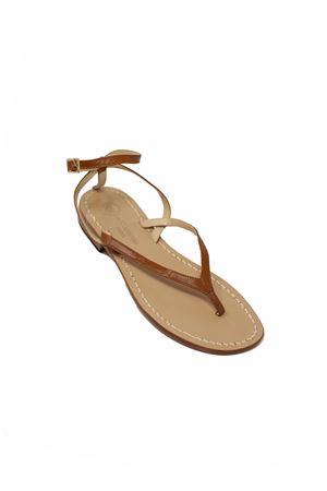 Brown Capri sandals from Da Costanzo shop  Da Costanzo | 5032256 | 2667/BRMARRONECUOIO
