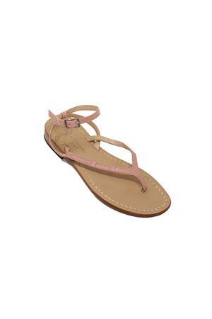 Sandali infradito bassi rosa Da Costanzo | 5032256 | 2667/BRROSA