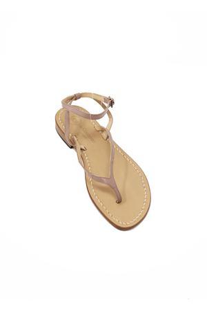 Grey Capri sandals from da Costanzo shop  Da Costanzo | 5032256 | 2667/BRTAUPE