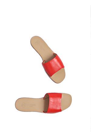 Sandali modello ciabattina rossi Da Costanzo | 5032256 | 2766ROSSO