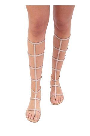 Black slave sandals Da Costanzo | 5032256 | 2773CHAMPAGNE