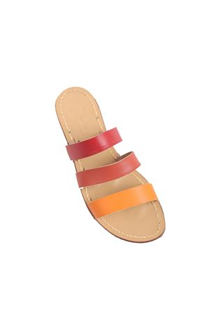 Orange bands non flip flop sandals  Da Costanzo | 5032256 | 3FASCEARANCIONE
