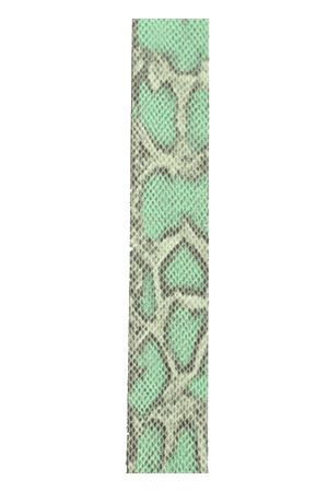 Green python print capri sandals  Da Costanzo | 5032256 | 3FASCEVERDEPITONE