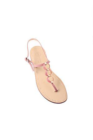 Capri jewel chain sandal Da Costanzo | 5032256 | CHAINSROSA