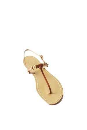 Sandali capresi modello farfallina con nodino Da Costanzo | 5032256 | FARFALLINA ANNODATACUOIO