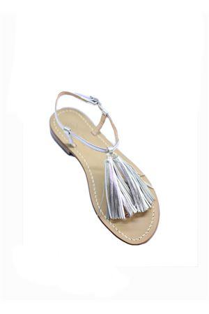 Da Costanzo Capri sandals with tassels  Da Costanzo | 5032256 | NAPPINE2PARGENTO