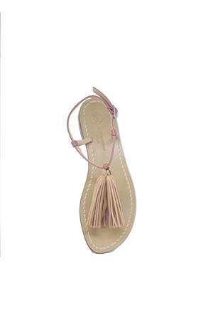 Handcrafted Capri Sandals with brown tassels Da Costanzo | 5032256 | NAPPINE2PEROSA