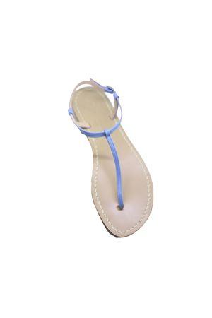 Sandalo Caprese infradito sottile ed elegante Da Costanzo | 5032256 | S1918AZZURRO