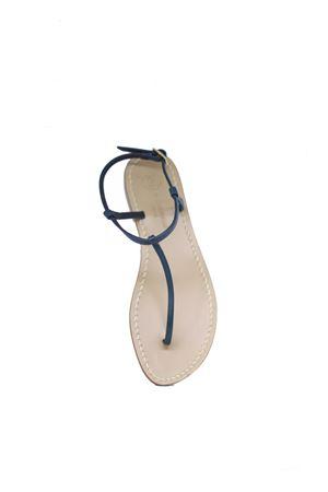 Sandalo Caprese infradito sottile ed elegante verde Da Costanzo | 5032256 | S1918VERDE