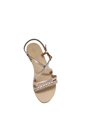 Embodied Handmade Capri Sandals Da Costanzo | 5032256 | TV2726CHAMPAGNE