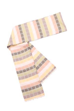 Obi in seta con fantasia tonalità beige, girgio, marrone Eco Capri | 22 | BLTSLKTSCNYTELLOW