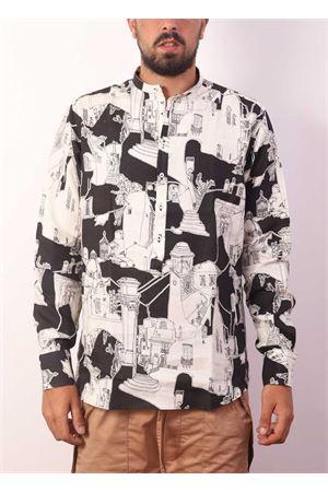 Camicia da uomo con scollo alla coreana Eco Capri | 6 | CMCKORCAPRI