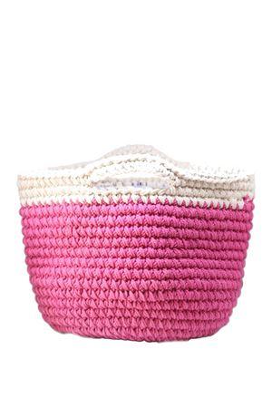 Fuchsia organic cotton handbag Eco Capri | 31 | CRBSKBPNKFUXIA