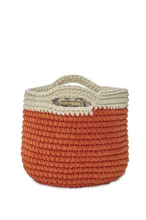 Orange crochet bag  Eco Capri | 31 | CRBSKGMNDARANCIO