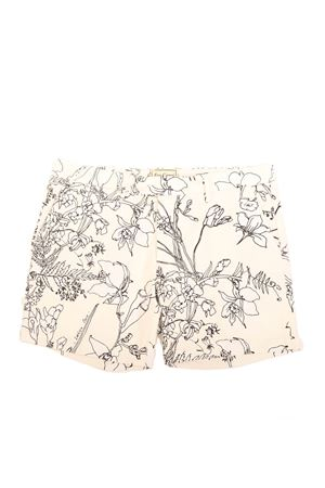 Short tailored Bermuda with flower pattern Eco Capri | 5 | MBRFLWMRFLOWERSMASHMALLOW