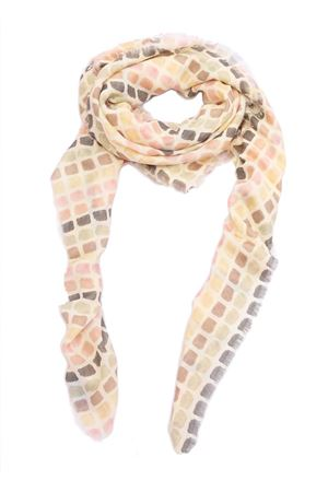 Multicolored checkered scarf Eco Capri | 77 | MOLTSCMCCYELLOW