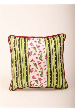 Bouganvillea of Capri Island cushion Eco Capri | 5032252 | PILSLK45BGNVLVERDE/NERO