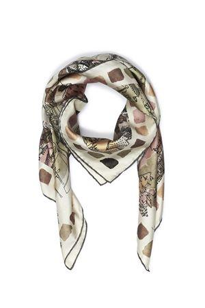 Tuscany landscape print silk scarf  Eco Capri | -709280361 | SLKTSC110TOSCANA
